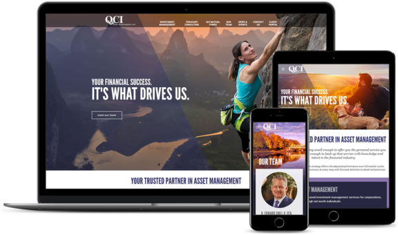 QCI Website On Multiple Devices